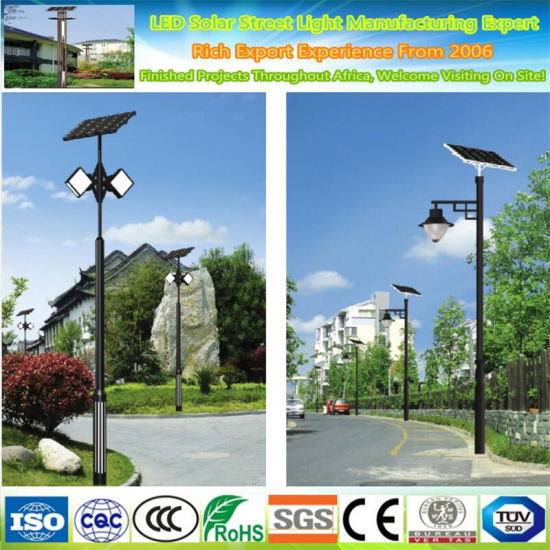 Outdoor Aluminum IP55 Post Lighting Decorative Bollard Lawn Lamp 2W Garden Solar LED Landscape Light pictures & photos