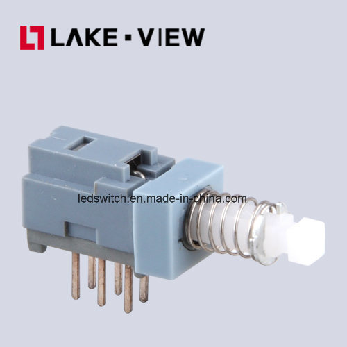 SGS Lead Free Electronical Position Locked Miniature Push Button Switch pictures & photos