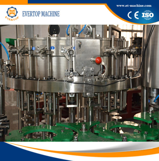 Glass Bottle Gas Beverage Filling Machine pictures & photos