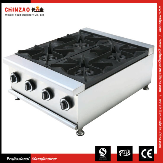 4 Burner Commercial Cooker Table Top