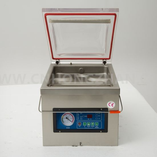 Wholesale Dz300 Table Top Vacuum Packing Machine pictures & photos