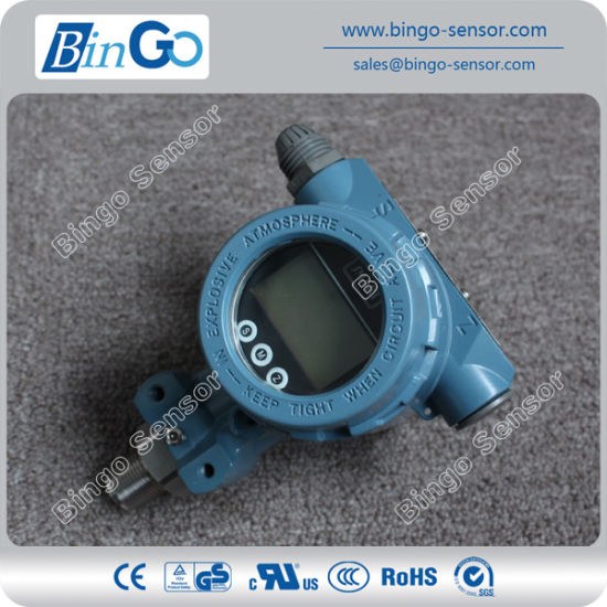 Hart Protocol Pressure Transducer Indicator with LCD Display for High Pressure