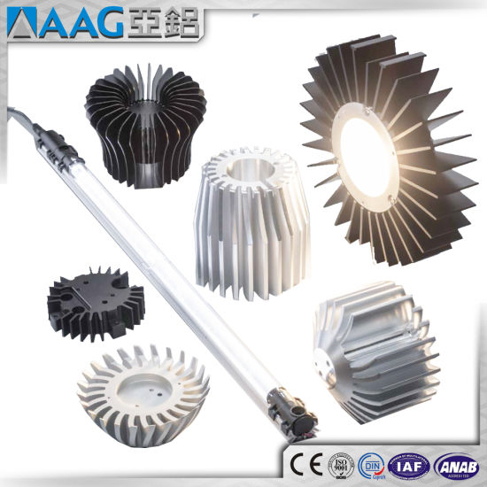 Aluminum/Aluminium Extrusion Profile Heat Sink Manufacturer pictures & photos