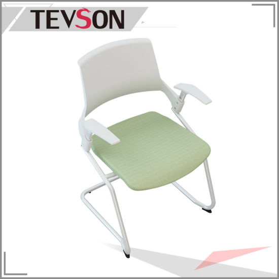 2017 New Design Sprayinging Bow Foot Plastic Chair (DHS-P112) pictures & photos