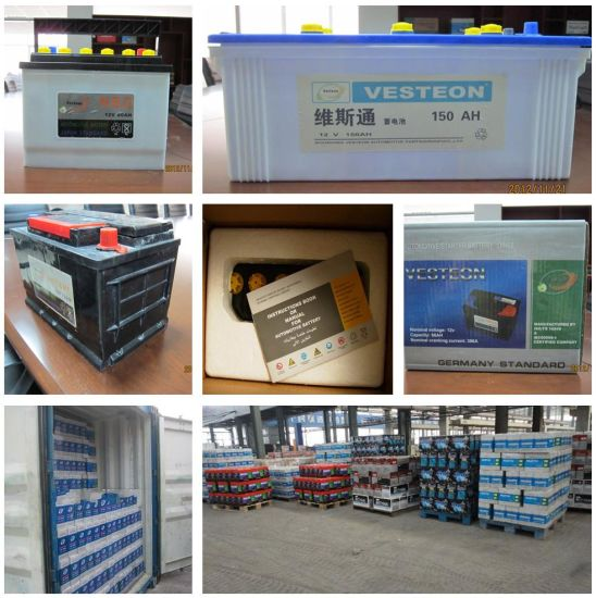 Lead Acid Mf Battery with JIS Standad DIN Standard pictures & photos
