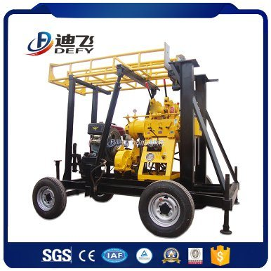 Xy-400f Trailer Mounted Drilling Rig Made in China