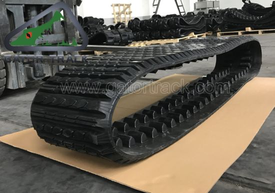 18′′x4′′x56 457*101.6*56 Multi Terrain Loader Cat 267 Cat 277 Compact Track Loader Track pictures & photos