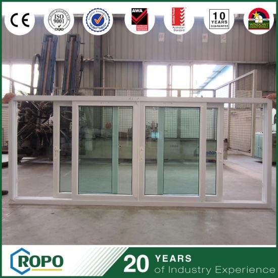 Pvc Double Glazing Triple Pane Sliding Windows China Price China