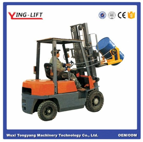 Forklift Attachments to Lift and Pour Drum pictures & photos