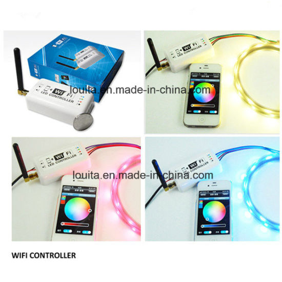 2.4G WiFi Wireless RF Remote RGB LED Light Controller pictures & photos