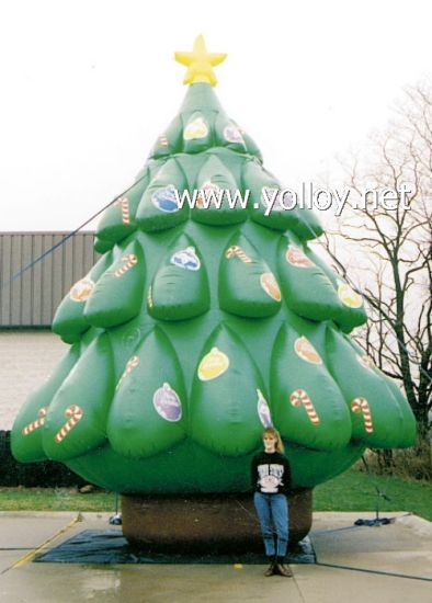 giant outdoor inflatable christmas tree for xmas holiday