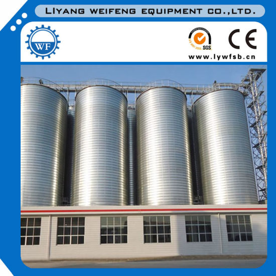 Cement Silo Used for Fiber Cement Board Production Line pictures & photos