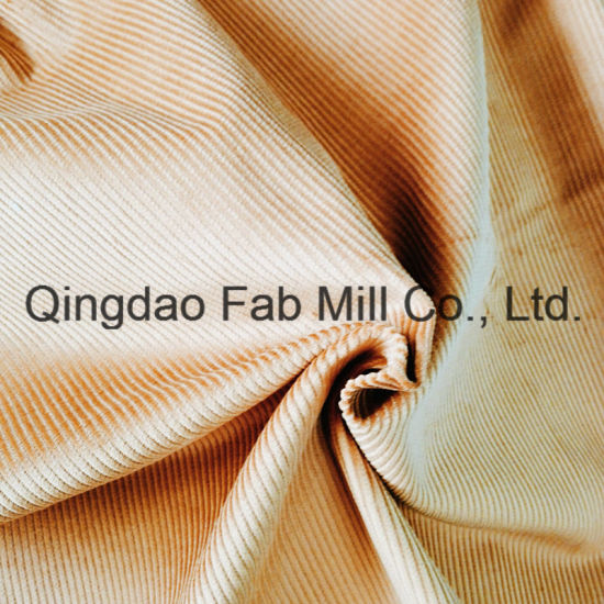 8 Wales 100%Organic Cotton Corduroy Fabric for Pants etc. (QF16-2670) pictures & photos