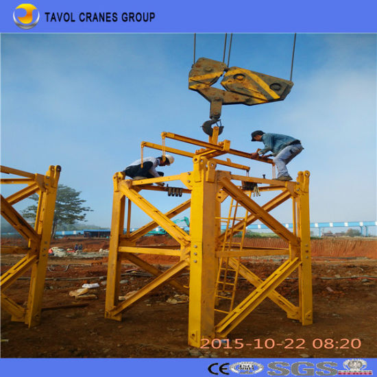 Best Quality Construction Building Tower Crane Top Kit Tower Crane pictures & photos