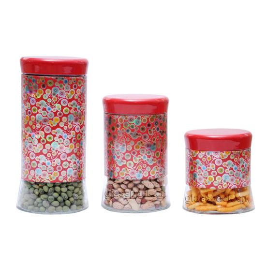 Tea Coffee Sugar Kitchen Storage Canisters Jars Pots ...