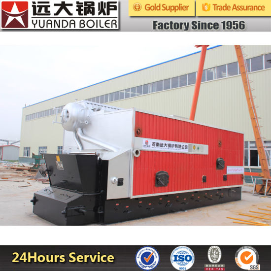 China Larger Heat Area Sufficient Burning Water Tube Steam Boiler ...