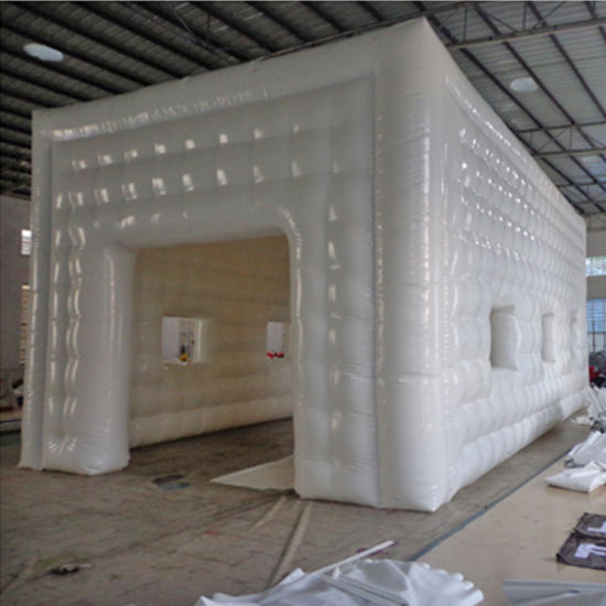 Advertising Inflatable Square Cabin Dome Cube Tent for Wedding Party