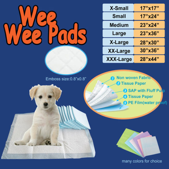 Dog Peed Pads /& Puppy Training Potty Piddle Pads Large Ultra Absorbent 23 x 17
