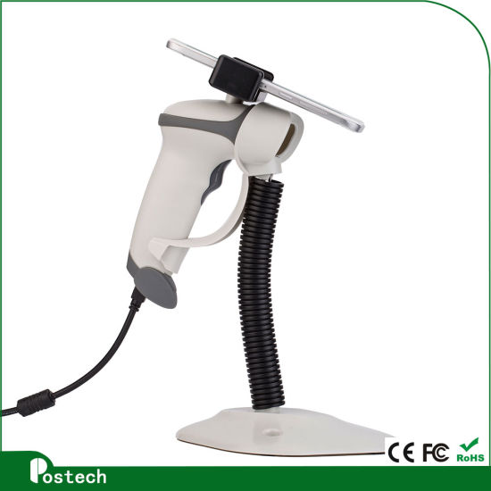 HS02 Quick Scanning Laser/CCD 1d Scan Engige Handhels Bar Code Reader Laser Barcode Scanner Reading Barcoedes on Price Tag label pictures & photos