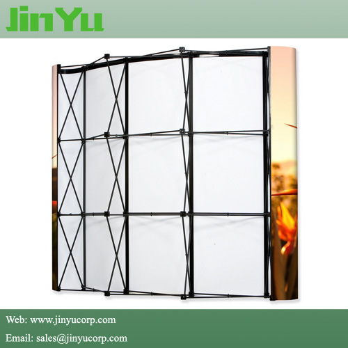 Black Frame Magnetic Pop up Trade Show Display pictures & photos