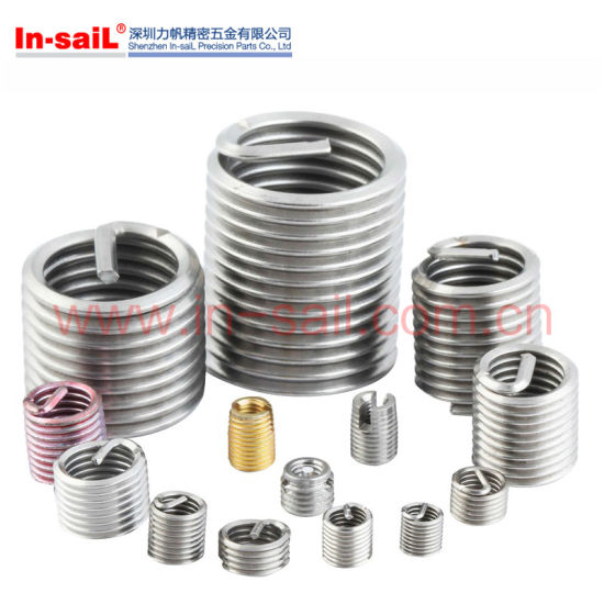 China M12 Stainless Steel Wire Thread Inserts for Aluminium