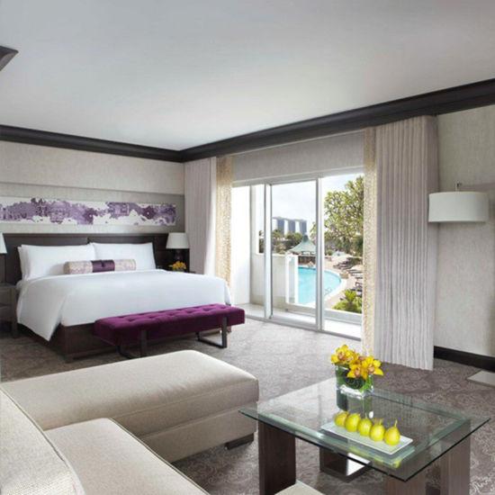 4 Star Hotel Bedroom Furniture Wooden Bedroom Furniture Set