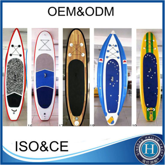 2019 High Quality Inflatable Surfing Stand up Paddle Board Sup Board Paddle Surfing Board