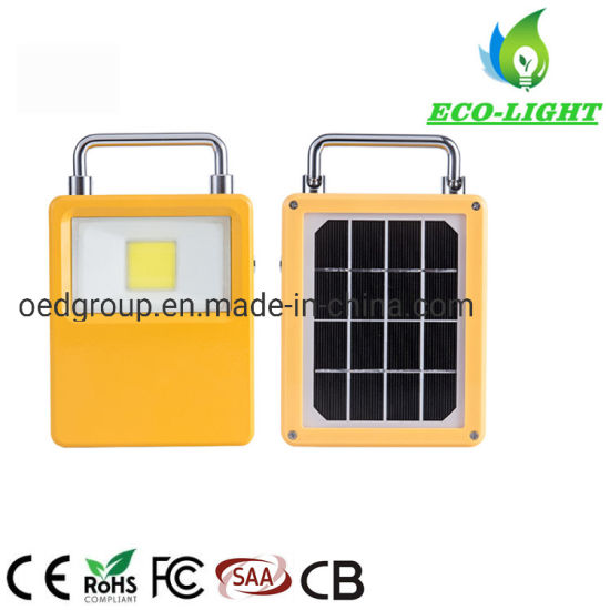 IP65 Portable Outdoor Camping Work Emergency Lighting Rechargeable USB 30W LED Solar Flood Lights