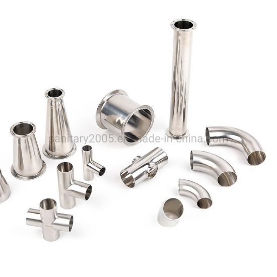 Stainless Steel Sanitary Food & Beverage Process Polished Elbow Tube Bpe Pipe Fittings