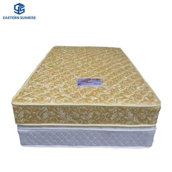 China King Size Cheap Soft Double Spring Bed Mattress