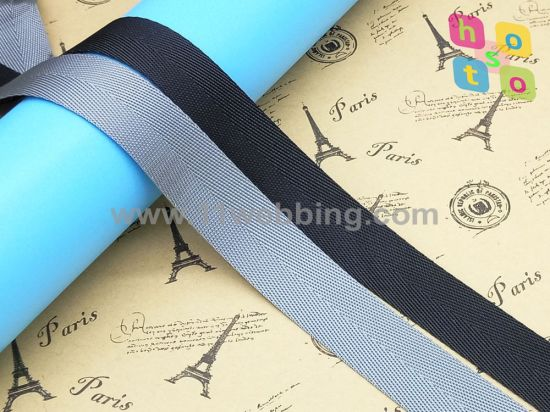 Flat Herringbone Fake Nylon Binding Webbing for Bag Accessories pictures & photos