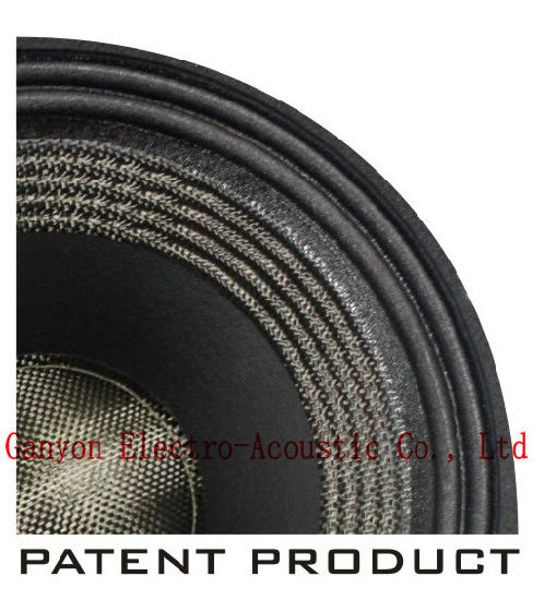 "Gw-1512na 15"" Neodymium Woofer with Special Patent Paper Cone, Carbon Cone pictures & photos"