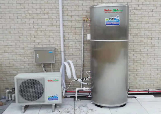 Residential Split Heat Pump Water Heater and Air to Water Heat Pump Water Heater