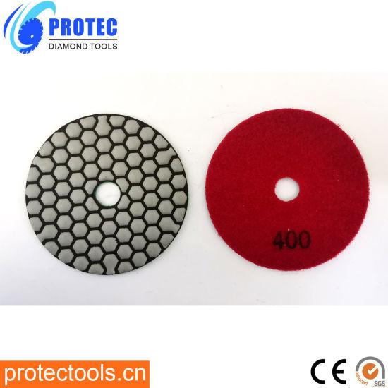 "Diamond Polishing Pads/Diamond Tools/Polishing Tool/Polishing Pad/Wet&Dry Polishing Pads/Flexible Polishing Pads 4""/105mm/7 Step Polishing Pads"