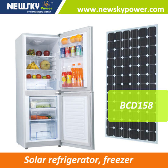 Solar Energy 176L 12V 24V Solar Fridge Freezer Refrigerator pictures & photos