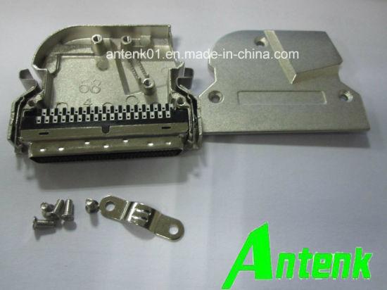 SCSI Solder Connector+ Metal Cover