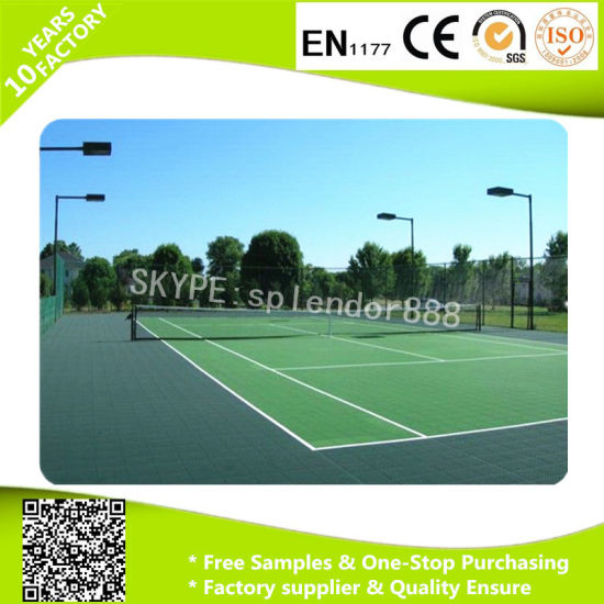 Good Quality Outdoor Interlocking PP Plastic Floor Tiles pictures & photos