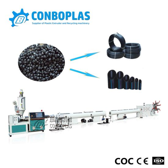 Wholesale Plastic Conduit Gas Water Irrigation LDPE HDPE PE Tube Hose Pipe Extrusion Production Line