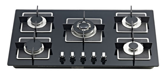 Build-in Gas Stove with Five Cast Iron Burner Jz20y. 5-Sn02 pictures & photos