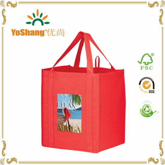 2016 Eco Friendly Recycle Shopping Bag, Customized Printed Non Woven Bag