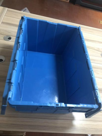 Plastic Storage Container -Stackable Totes with Integrated Lid
