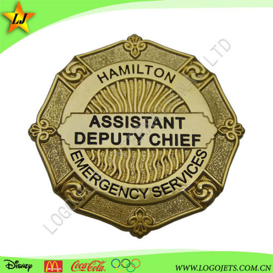 Fashion 3D Metal Lapel Pin Police Military Army Car Tin Button Soft Hard Enamel Badge for Promotional Gift