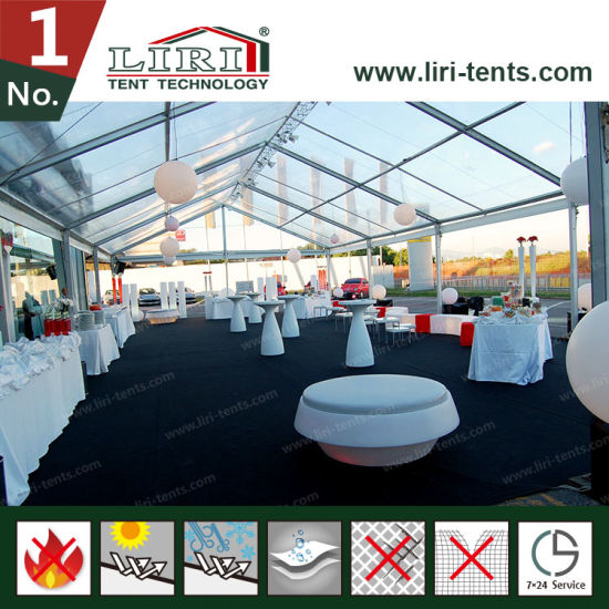 25m Insulation Clear Roof Tents Used as Party and Wedding