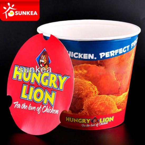 Custom Printed Paper Fried Chicken Box