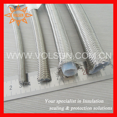 Transparent PTFE Corrugated Tubing pictures & photos