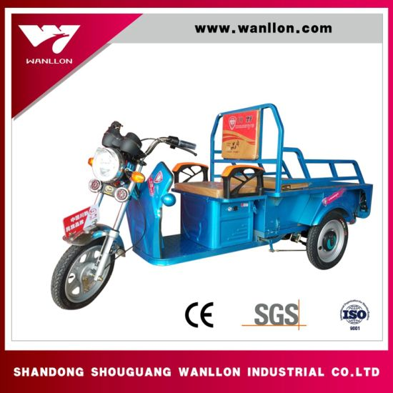 Low Price for Cargo Electric Tricycle with Cabin for Adults pictures & photos