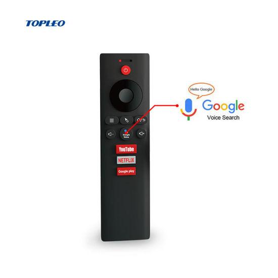 Topleo Custom Gyroscope G-Sensor Smart 2.4G USB IR Universal Wireless TV Air Mouse Remote Control