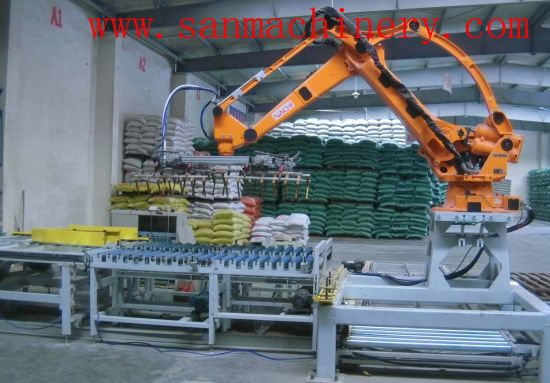 China CE Automatic Robot Palletizing Machine Price Sale pictures & photos