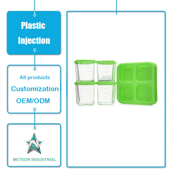 Customized Plastic Injection Mould Products Tableware Plastic Food Packaging Transparent Preserving Box