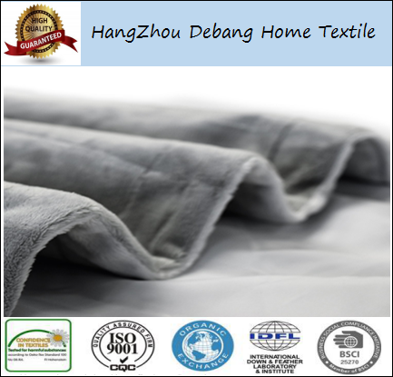Premium Micro Plush Pet Blanket Reversible Gray Dog Blanket